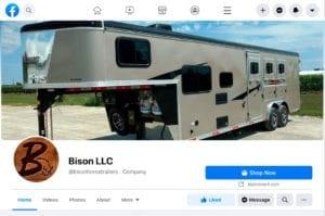 Bison on Facebook